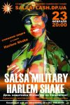 Salsa Military Harlem Shake party