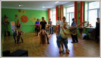 Групповые занятия в SLFdance