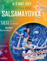 6-8 мая 2016 #SLFdance гастроли на XI PRIMAVERA FEST SALSAMAYOVKA